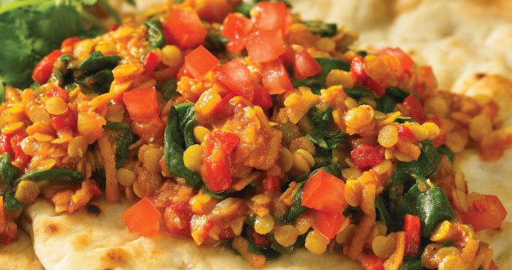 Red Lentil and Vegetable Curry is a fantastic vegetarian main or a swoon worthy side dish